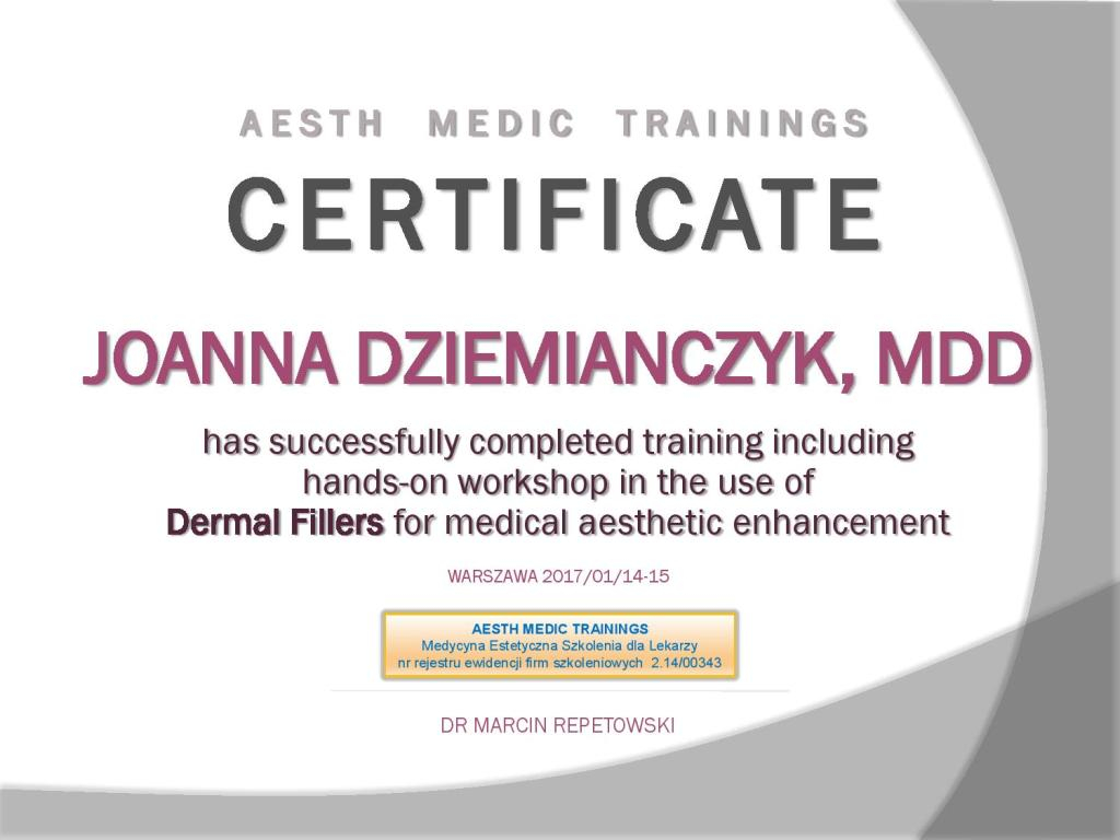 Dermal Fillers for medical aesthetic enhancement